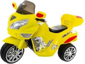 EURO BABY Euro Baby Akumulatorový motocykl - žlutý