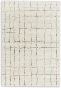 Astra - Golze koberce Kusový koberec Savona 193000 Grid Cream - 67x130 cm