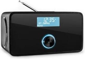 Auna DABStep, DAB/DAB+ digitálne rádio, bluetooth, FM, RDS, budík