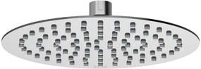 RAVAK 984.01 Hlavová sprcha Slim guľatá, 200mm X07P335