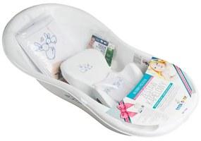 TEGA Tega Bunny Darčeková sada na kúpanie pre miminko Bunny biela Biela |
