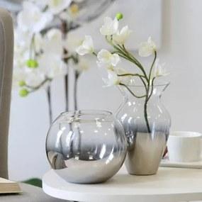 Bighome - Váza COMBA 15 cm - priehľadná