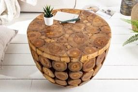 Konferenčný stolík Pure Nature 50cm z teakového dreva