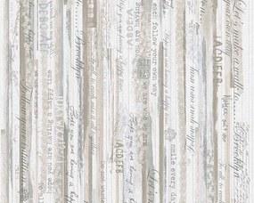 A.S. Création - Papierová tapeta na stenu - Modrá, Béžová, Šedá , Hnedá 95674-2 Djooz - 0,53 m x 10