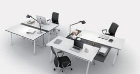 PLAN Pracovný stôl BOARDS gray, 1700 x 750 mm