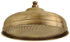 SAPHO SOF3006 Retro hlavová sprcha, kruh priemer 30cm, bronz