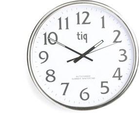 Nástenné hodiny s automatickými zmenami času, Ø 350 mm