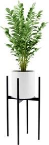 GOC Kovový stojan na kvetináč TORRE 60 cm