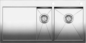 Blanco ZEROX 6 S-IF Nerez drez vľavo s tiahlom