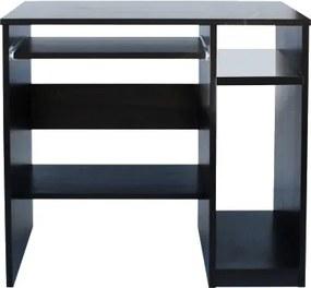 Kancelársky počítačový stôl šírka 81 cm - Buk