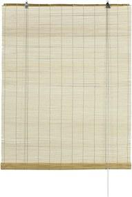 Gardinia Roleta bambusová prírodná, 100 x 160 cm