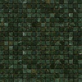 Kamenná mozaika Premium Mosaic Stone zelená 30x30 cm mat STMOS15GRW