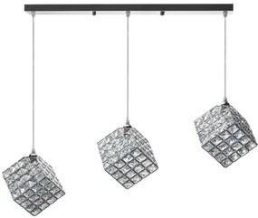 TooLight Stropní svítidlo Glamour Cube Triple chrom