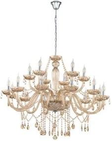 Interierové rustikálne svietidlo EGLO BASILANO zlatá 39095