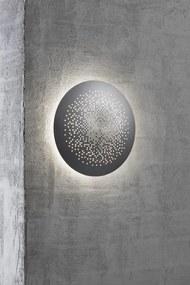 HUNT 26    dizajnová vonkajšia nástenná lampa Farba: Hliník