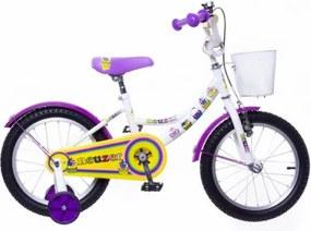 """Neuzer 16"""" detský bicykel BMX CUPCAKE biela 2018"""