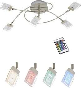 Briloner Briloner 2530-052S - LED RGB Stmievateľný prisadený luster BUNTO 5xLED/3,6W/230V BL0259
