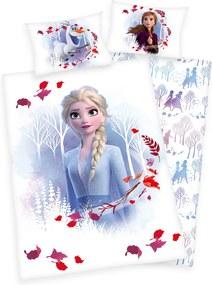Herding Detské bavlnené obliečky do postieľky Frozen 2 Believe journey, 100 x 135 cm, 40 x 60 cm