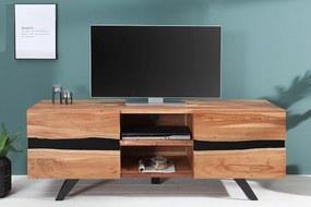 Bighome - TV stolík ZONA 160 cm - prírodná