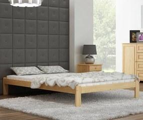 AMI nábytok Posteľ borovica nie je lakovaná Anzu VitBed 160x200cm