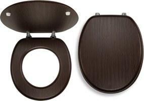 Novaservis WC/WENGE sedátko na WC dýhované drevo