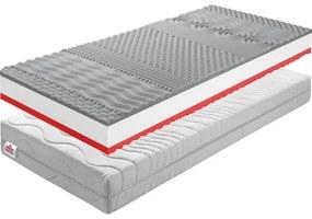 TEMPO KONDELA BE Tempo 30 New obojstranný penový matrac 90x200 cm PUR pena / látka