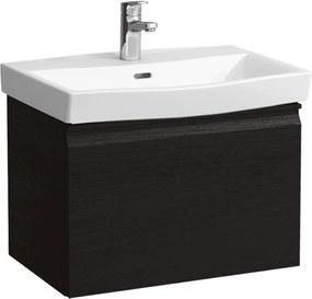 Kúpeľňová skrinka pod umývadlo Laufen Pro Nordic 55x37x39 cm wenge 8303.7.095.423.1
