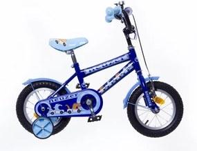"""Neuzer Detský bicykel pre chlapcov BMX 12"""" WILDWAGON modrá 2018"""