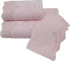Soft Cotton Luxusný malý uterák DIANA 32x50 cm Ružová