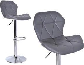 TZB Barová židle Hoker Gordon - šedivá