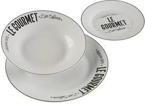 3 dielny set tanierov z porcelánu, Versa, Le Gourmet Versa Home 21150074