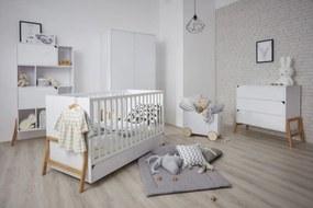 Detská izba LOTI posteľ + úložný priestor 200x90 cm