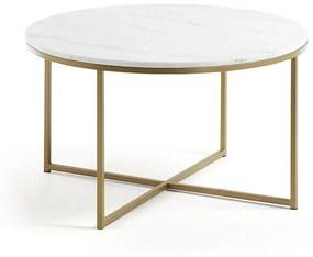 Konferenčný stolík La Forma Shefield, ø 80 cm
