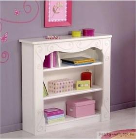 Detská knihovna Alice - biela