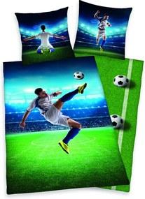 Herding obliečky Futbal 140x200, 70x90