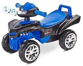 TOYZ Toyz miniRaptor Odrážadlo štvorkolka Toyz miniRaptor modré Modrá |