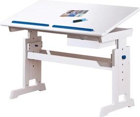 HALMAR Baru detský písací stôl biela