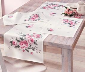 Behúň na stôl Romance, 140 x 40 cm