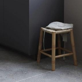House Doctor Bambusová stolička s výpletom Seagrass
