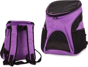 Verk 19050 Cestovné batoh pre psov fialový