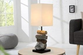 Masiv24 - Lampa ELOMENTS - biela, prírodná