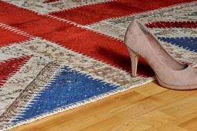 Obsession koberce Ručně tkaný kusový koberec Spirit 551 UNION JACK - 120x170 cm