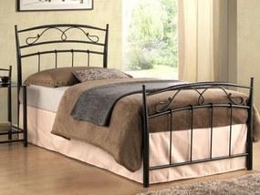 Signal Jednolôžková posteľ SIENA 90 čierna