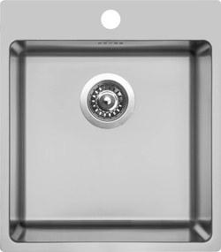 Kuchynský nerezový drez Sinks BLOCKER 450 V kartáčovaný