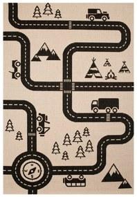 Detský koberec Zala Living Road, 120 × 170 cm