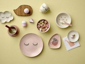 Bloomingville Mini keramický tanierik na šperky so zmrzlinou