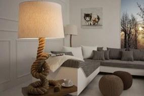 Masiv24 - Stolná lampa SEVER SEAN 85 cm - krémová