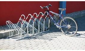 Jednostranný stojan na bicykle pre 5 biyklov