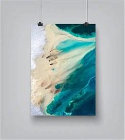 Plagát Americanflat Silver Shores, 42 × 30 cm
