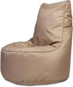 Sedací vak Seat S Polyester Soft - NC17 - latte